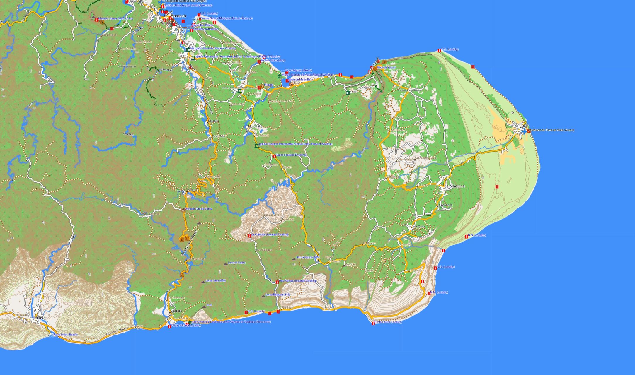 Flughafen D303274sseldorf Karte.Cuba Karte