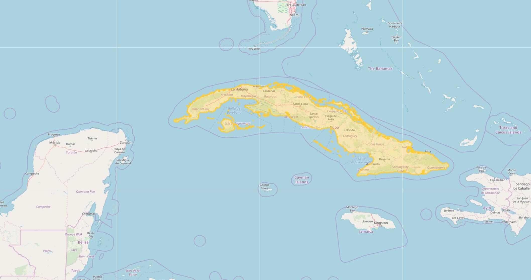 Karte Kuba.Kuba Topo Gps Karte Garmin Download