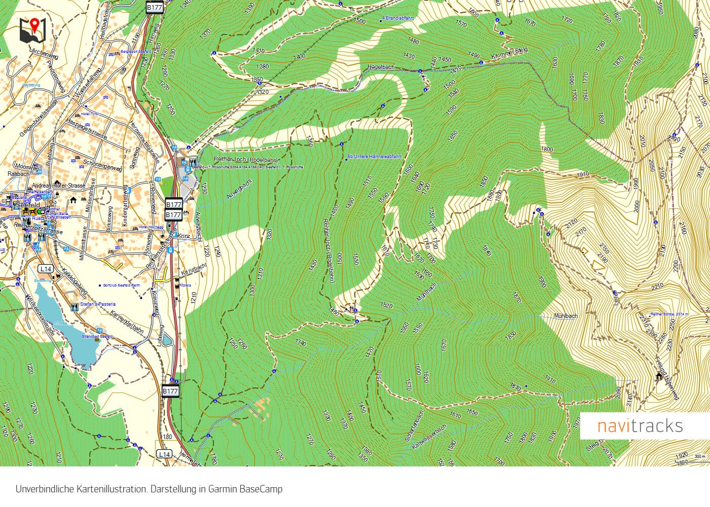 Karte Namibia Download.Namibia Topo Gps Karte Garmin Download