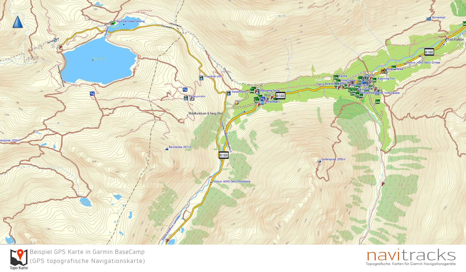 Karte Deutschland österreich.Alpen Topo Extra Gps Karte Garmin Download