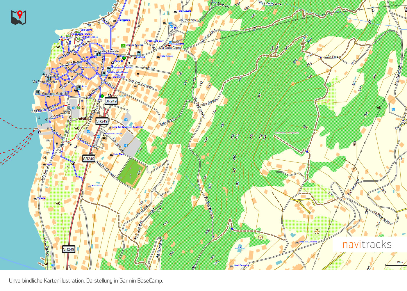 Neuseeland Topo Gps Karte Fur Garmin Mit 10m Srtm Hohelinien 4gb